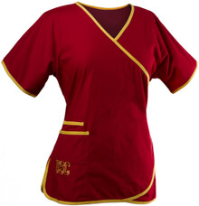USC 2 Pocket Scrub Top For Women