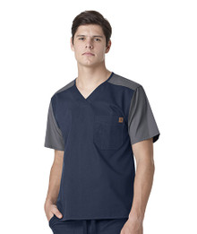 Carhartt : Men's Color Block Utility Scrub Top*