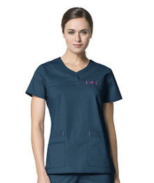 WonderWink WonderFLEX : Patience Scrub Top For Women 6208*