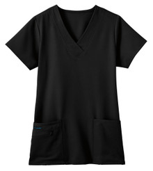 Jockey Women's Classic Fit Tri Blend Solid Scrub Top*