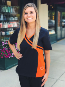 Chicago Bears NEW Women's NFL Scrub Top