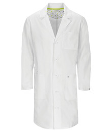 Code Happy Antimicrobial + Fluid Barrier Unisex Lab Coat