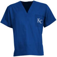 Kansas City Royals MLB V Neck Scrub Top