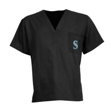Seattle Mariners MLB V Neck Scrub Top