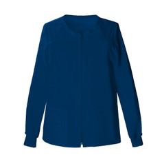 Cherokee Core Stretch : Womens 4315 Zip Front Warm Up Jacket*