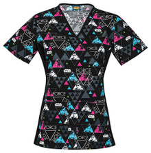 Star Wars Scrub Top For Women