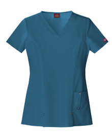 Dickies Xtreme Stretch : V Neck 82851 Scrub Top For Women*