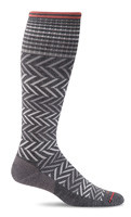 SOCKWELL WOMEN'S CHEVRON MODERATE GRADUATED COMPRESSION SOCKS (15-20MMHG)*
