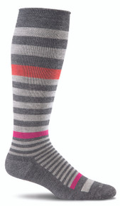 Sockwell Orbital Compression Sock in Charcoal