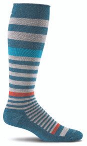 Sockwell Orbital Compression Sock in Teal