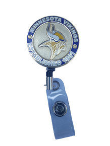 Minnesota Vikings Retractable Badge Reel