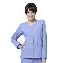 WonderWink 4 Stretch : Sporty Snap Front Jacket for Women*