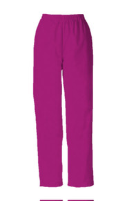 Cherokee Workwear 4001 : Natural Rise Tapered Leg Pull-On Pant Scrub Pants For Women*