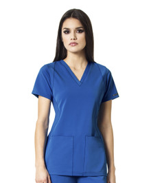 WonderWink HP 6112 : V Neck Scrub Top For Women