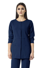 WonderWink HP 8312 : Snap Front Scrub Jacket For Women