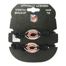 Chicago Bears Stretch Bracelet / Hair Tie