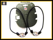 Pittsburgh Steelers Stretch Bracelet / Hair Tie