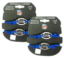 Seattle Seahawsk Stretch Bracelet / Hair Tie