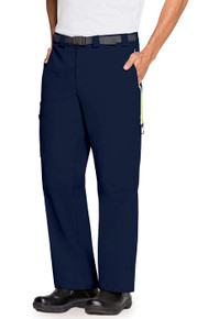MENS : Antimicrobial Protection Cargo Scrub Pant with an Adjustable Clip Buckle Belt