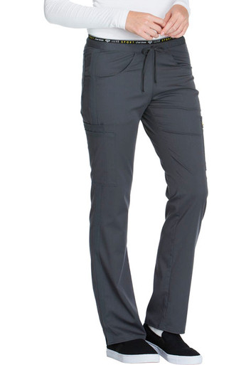 f7cefc3727c Cherokee LUXE SPORT : Mid Rise Drawstring Pant For Women ck003