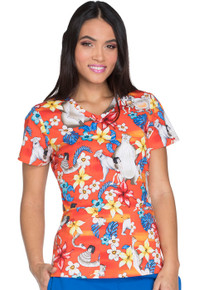 Jungle Book Scrub Top For Women