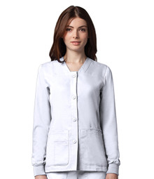 Grey's Anatomy : 4 Pocket Button Up Warm-Up For Women*