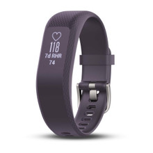 "Garmin Purple Vívosmart® 3 activity watch band fits 4.8""-7.4"" circumference"