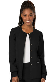 Cherokee Revolution : Snap Front Warm Up Jacket for Women*