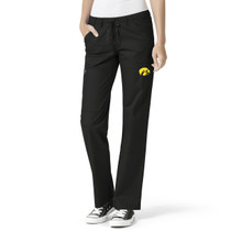 University of Iowa Hawkeyes Women's Straight Leg Cargo Scrub Pants*