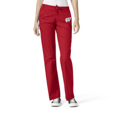 University of Wisconsin Women's Flare Leg Scrub Pants*