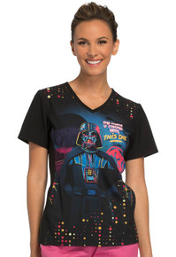 Darth Vader Star Wars Scrub Top For Women