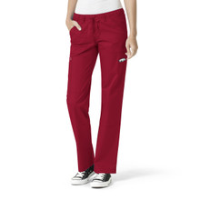 University of Arkansas Women's Straight Leg Cargo Scrub Pants*