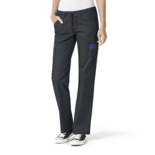 Kansas State Women's Straight Leg Cargo Scrub Pants*