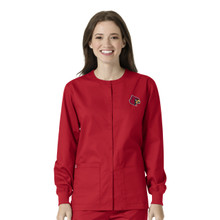 University of Louisville Women's Warm Up Nursing Jacket
