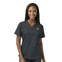 Iowa State Cyclones Women's V Neck Scrub Top