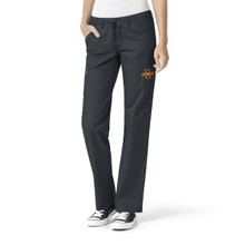 Iowa State Cyclones Pewter Women's Straight Leg Cargo Scrub Pants