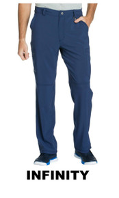 MEN : Athletic Antimicrobial Protection Cargo Scrub Pant