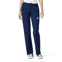 Arizona Wildcats Women's Flare Leg Scrub Pants*