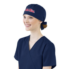 Ole Miss Scrub Cap for Women