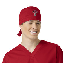 Texas Tech University- Red Raiders Scrub Cap for Men