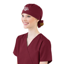 University of Montana Grizzlies Maroon Women's Scrub Cap