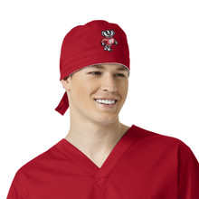 University of Wisconsin Badger Logo Scrub Cap for Men