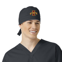 Iowa State Cyclones Pewter Scrub Cap for Men