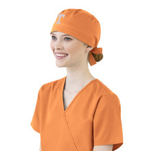 Tennessee Volunteers Orange Scrub Cap for Women