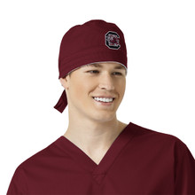 University of South Carolina Gamecocks Black Scrub Cap for Men