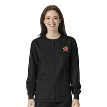 Maryland Terrapins Women's Warm Up Nursing Scrub Jacket*