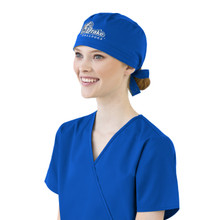 Drake Bulldogs Royal Scrub Cap for Women