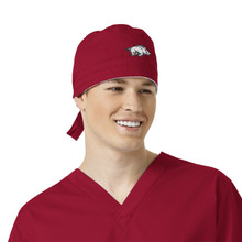 Arkansas Razorbacks Cardinal Scrub Cap for Men