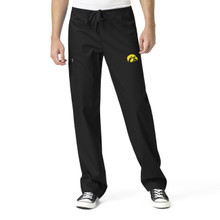 University of Iowa Hawkeyes Men's Cargo Scrub Pants*