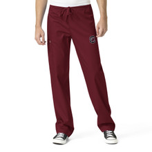 University of South Carolina Gamecocks Burgundy Men's Cargo Scrub Pants